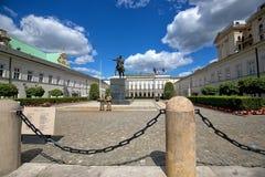 pałac prezydencki Warsaw Zdjęcie Stock