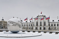 pałac prezydent s Obraz Royalty Free