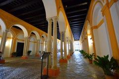 pałac Sevilla fotografia stock