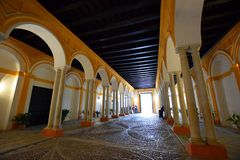 pałac Sevilla obrazy stock