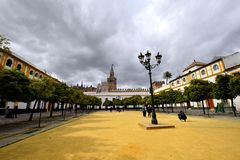 pałac Sevilla obraz royalty free