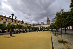 pałac Sevilla zdjęcia stock