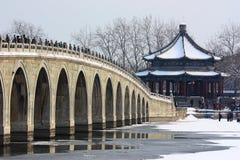 pałac snowscape lato obraz royalty free