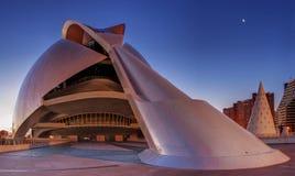 Pałac sztuki Walencja Palau V Obrazy Stock