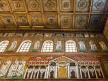 Pałac Theodoric w mozaice w Ravenna Zdjęcie Royalty Free