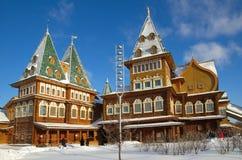 Pałac Tsar Alexei Mikhailovich w Kolomenskoye, Moskwa, Rosja Zdjęcia Stock