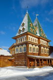 Pałac Tsar Alexei Mikhailovich w Kolomenskoye, Moskwa, Rosja Obraz Royalty Free