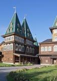 Pałac Tsar Alexey Mikhaliovich Moskwa Kolomenskoye Obrazy Royalty Free