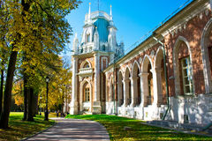 pałac tsaricino zdjęcia royalty free
