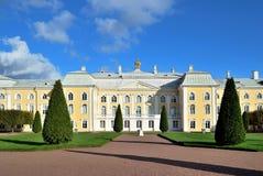pałac uroczysty peterhof Zdjęcia Royalty Free