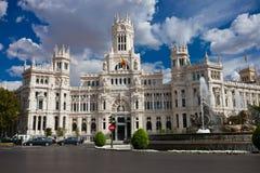 Pałac w Madryt Zdjęcia Stock