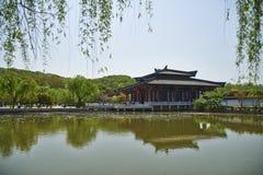 Pałac w parku Fotografia Stock