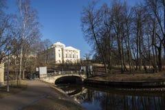 Pałac w Pavlovsk Fotografia Royalty Free