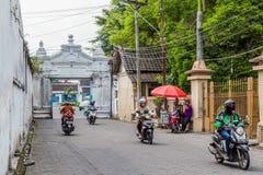 Pałac w Surakarta, Jawa, Indoensia Obraz Stock