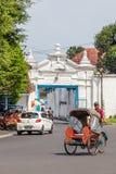 Pałac w Surakarta, Jawa, Indoensia Zdjęcie Royalty Free