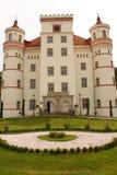 Pałac w Wojanow blisko Jelenia Gora Polska zdjęcia royalty free