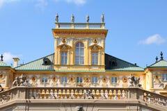 pałac Warsaw wilanow Obraz Stock