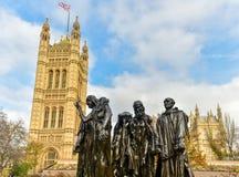Pałac Westminister, Londyn - Fotografia Royalty Free