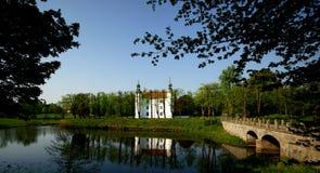 pałac woda Zdjęcie Stock