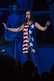 PA: Concerto de Hillary Clinton & de Katy Perry GOTV em Philadelphfia Imagens de Stock