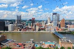 PA de Pittsburgh Photo stock
