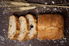 PA de vidre, ett bröd som är typisk av Catalonia, Spanien Royaltyfria Foton