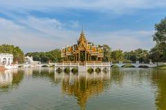 PA di colpo di architettura in palazzo Tailandia Immagini Stock