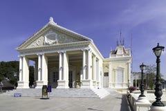 PA di colpo in Royal Palace, Ayutthaya, Tailandia 4 Fotografia Stock