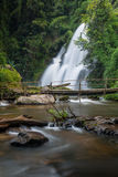 Pa dok seaw beautiful waterfall of chaing mai, thailand Royalty Free Stock Image