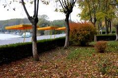 Październik w Calarasi miasta parku Obrazy Royalty Free