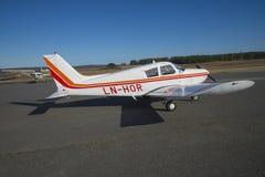 PA28-140E Cherokee Стоковое Фото