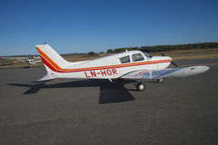 PA28-140E Cherokee Stock Photo