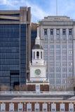 PA EUA de Hall Philadelphia da independ?ncia fotos de stock royalty free