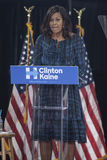 PA: First Lady Michelle Obama for Hillary Clinton in Philadelphia royalty free stock photography