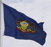 PA Flag Royalty Free Stock Image