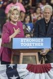 PA: Hillary Clinton Campains-verzameling n Philadelphia Stock Fotografie