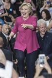 PA: Hillary Clinton kampanie zlotny n Filadelfia Zdjęcia Stock