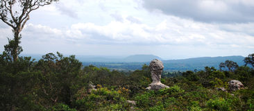 PA HIN NGAM国家公园的全景 图库摄影
