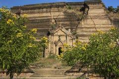 Pa Hto Daw Gyi Pagoda, Mingun,MyanmarBurma Royalty Free Stock Photo