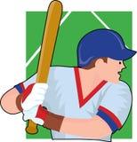 pałkarz baseballu Fotografia Royalty Free