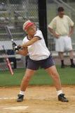 pałkarz softball Zdjęcia Stock