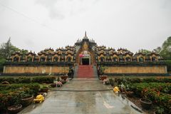 PA Kung Wat, Roi Et, Таиланд Стоковые Фото