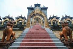 PA Kung Wat, Roi Et, Таиланд Стоковое Изображение