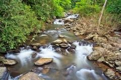 PA-La-U vattenfall i Thailand Royaltyfri Bild