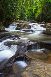 PA-La-U vattenfall i Thailand Arkivfoto