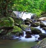 Pa-La-U waterfall in Thailand Stock Photography