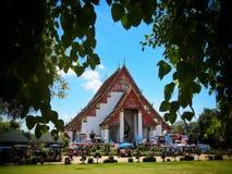 PA Lae Lai Temple, Thailand Royaltyfria Foton