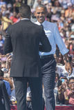 PA : Le Président Barack Obama pour Hillary Clinton à Philadelphie Photos libres de droits