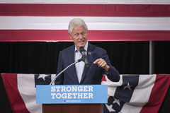 PA : Le Président Bill Clinton pour Hillary Clinton à Bell bleue Photo libre de droits