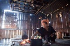pa ludzie kuchenni Fotografia Stock